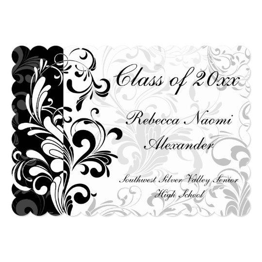 White background swirl graduationparty invitation zazzle white background swirl graduationparty invitation filmwisefo