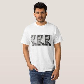 White basic t-shirt with image of the Joker