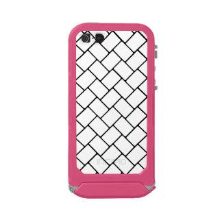 White Basket Weave 2 Incipio ATLAS ID™ iPhone 5 Case
