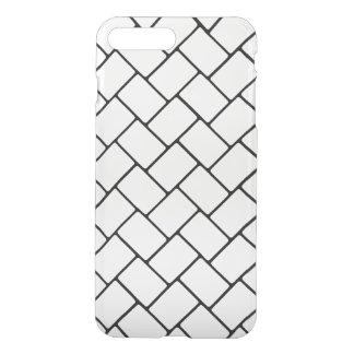 White Basket Weave 2 iPhone 7 Plus Case
