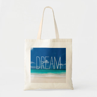 White Beach, Blue sky and Dream Tote Bag