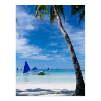 White Beach | Boracay, Philippines Postcard