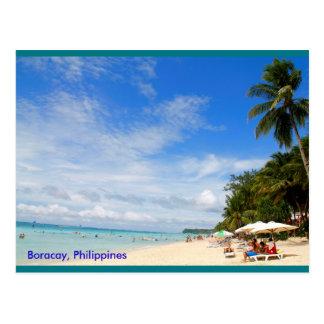White Beach, Boracay Postcard