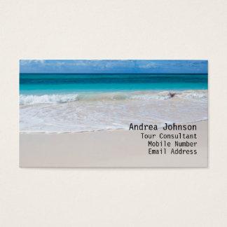 White Beach Business Card