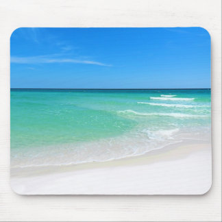 White Beach Mousepad