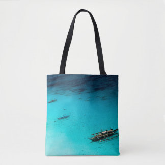 White Beach Tote Bag