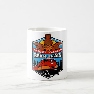 White Bear Train Mug 11oz