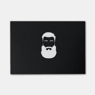 White Beard Post-it® Notes