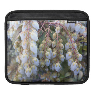 White Bells iPad Cover iPad Sleeves