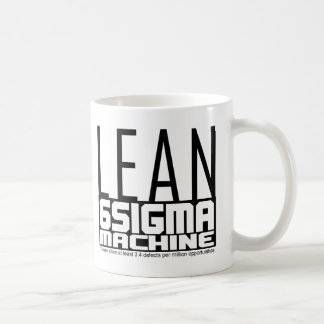 White Belt Lean Machine Mug