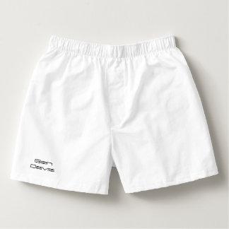White Ben Davis shorts Boxers