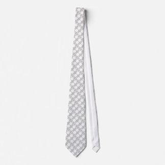 white bicycle modern design tie