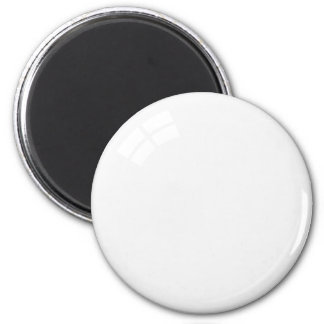 White billiard ball fridge magnet