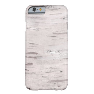 White Birch Tree Wood Rustic Modern Trendy Barely There iPhone 6 Case