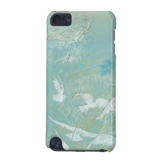 White Birds Flying Through Blue Sky iPod Touch (5th Generation) Case
