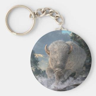 White Bison Key Ring