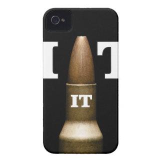 white bite the bullet iPhone 4 case