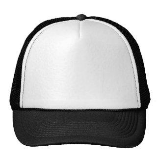 White Black Cap Truckers Hat