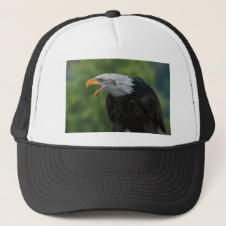 White Black Eagle during Daytime Trucker Hat