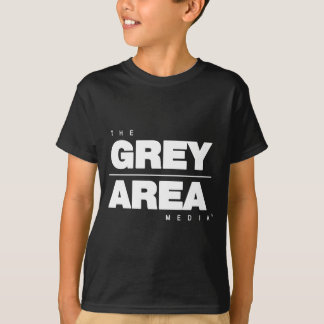 White/ Black Grey Area Apparel T-Shirt