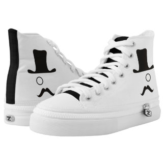 White/Black Original Rep High-Tops