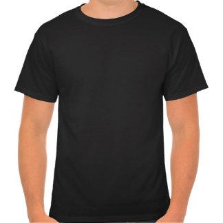 white black white circle t-shirts