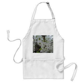 White Blossomed Spring Flowering Trees - Apron Standard Apron