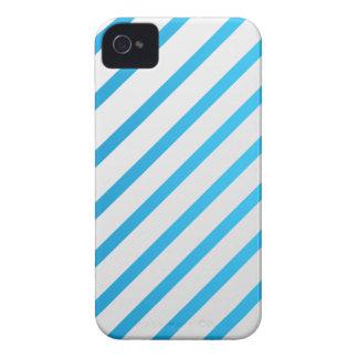 White & Blue Blackberry Bold Case