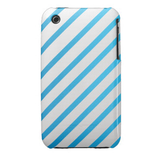 White & Blue iPhone 3G/3GS Case iPhone 3 Cover