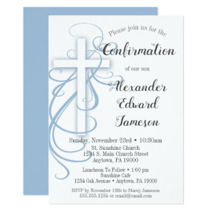 Confirmation Invitations Zazzle Com Au