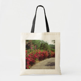 White Bougainvillea along road in St. Thomas flowe Tote Bags