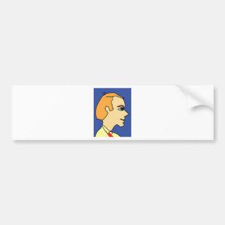 white boy1 bumper sticker