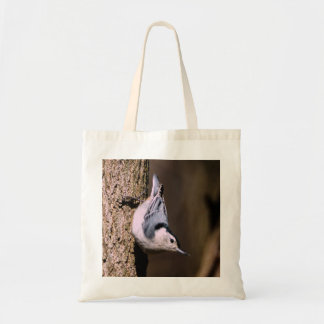 White Breasted Nuthatch Budget Tote Bag