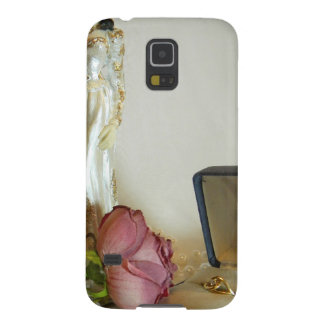 White Bridal IV Case For Galaxy S5