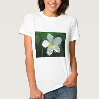 White Brombeerblüte T-shirt
