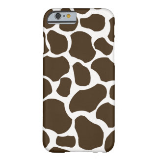 White brown giraffe spot fun stylish iPhone 6 case Barely There iPhone 6 Case