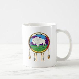 White Buffalo Native American Mug