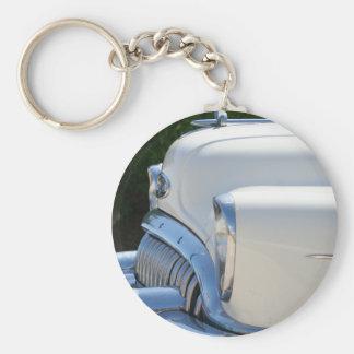 White Buick keychain