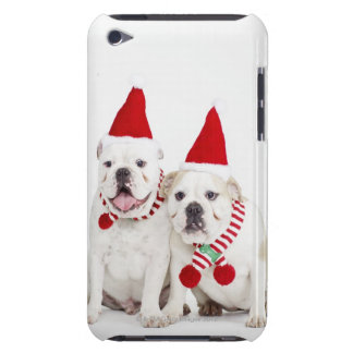 White bulldogs iPod Case-Mate case