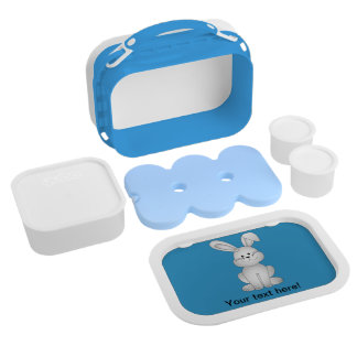 White bunny clipart lunch box