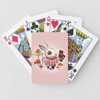 White Bunny Playing Cards