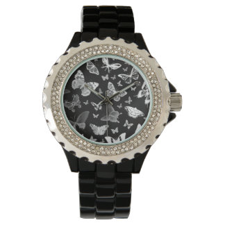 White Butterfly Fashion Watch by Julie Everhart