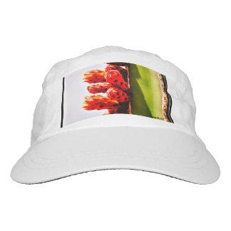 White Cactus Bloom Baseball Cap