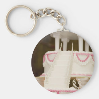 White Cake Key Chain