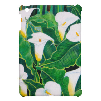 White Calla Lilies iPad Mini Case