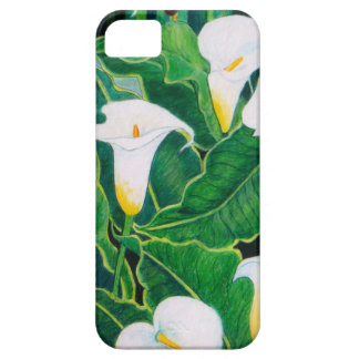 White Calla Lilies iPhone 5 Cases