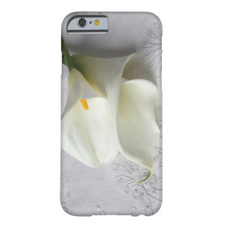 white calla lilies on linen iPhone 6 case ID case
