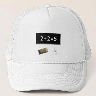 White cap 2+2=5