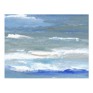 White Caps CricketDiane Ocean Waves Art Postcard