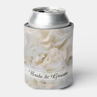 White Carnation Floral Wedding Favor